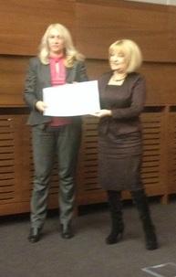 Dodela sertifikata u Klubu poslanika